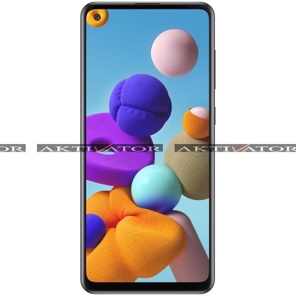 Смартфон Samsung Galaxy A21s 4/64GB (Black)