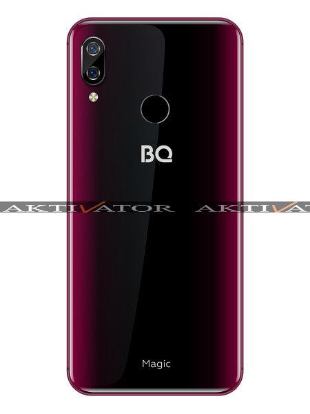 Смартфон BQ BQS-6040L Magic (темно-красный)