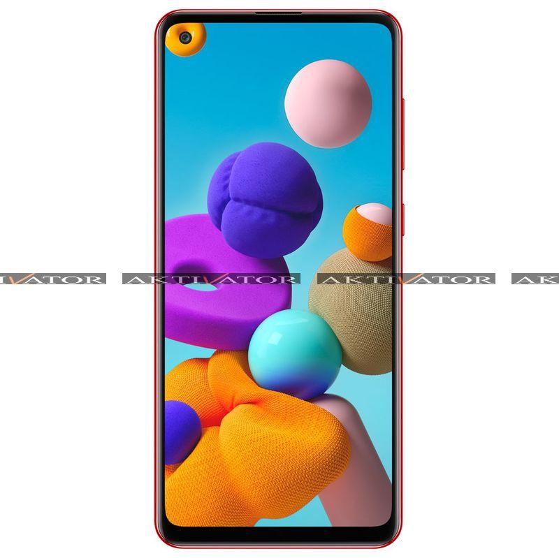 Смартфон Samsung Galaxy A21s 3/32GB (Red)