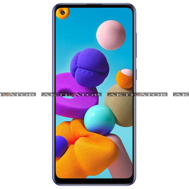 Смартфон Samsung Galaxy A21s 3/32GB (Blue)