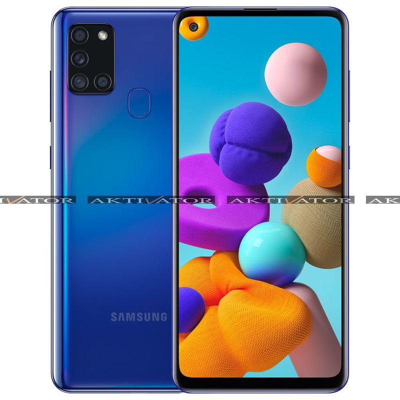 Смартфон Samsung Galaxy A21s 4/64GB (Blue)