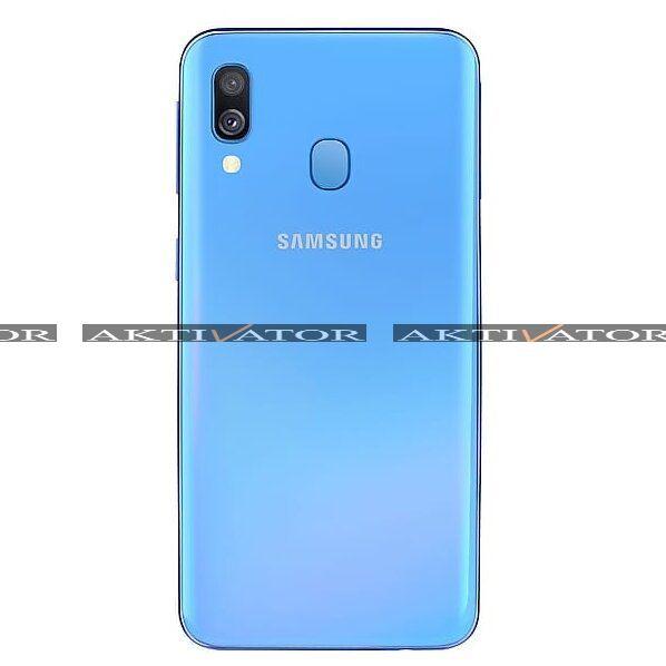 Смартфон Samsung Galaxy A40 64Gb Blue